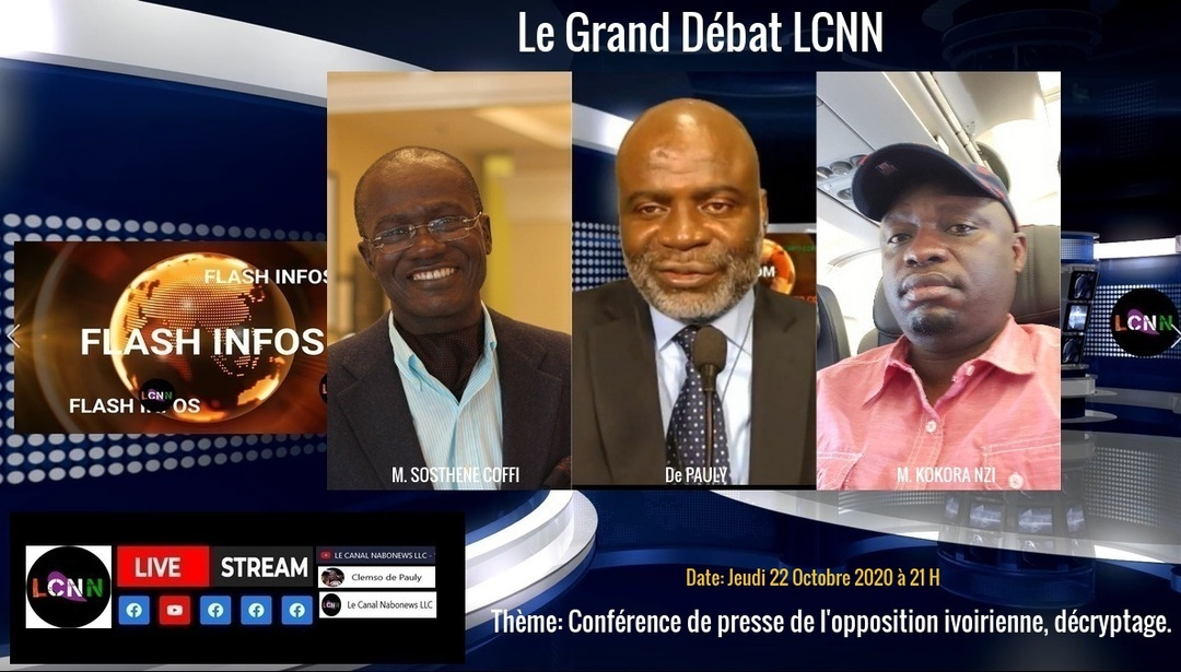 Le grand debat LCNN du 23 Octobre 2020