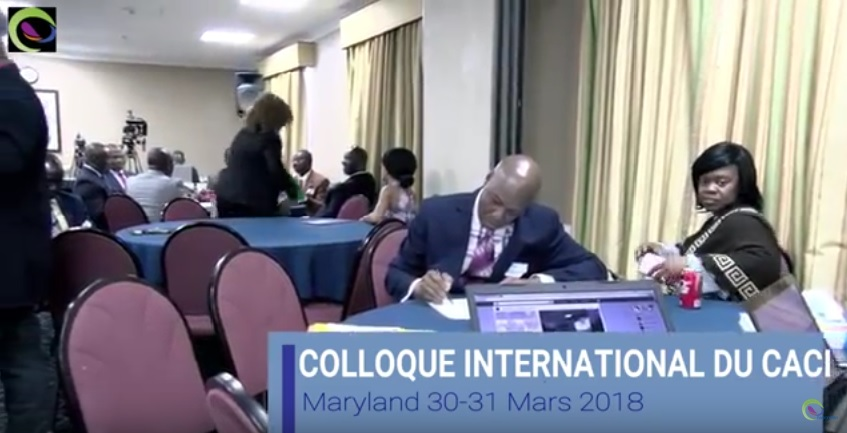 Premier Colloque International du CACI